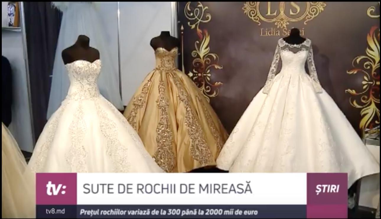 Video Expoziție De Rochii De Mireasă La Moldexpo Prețul Variază De