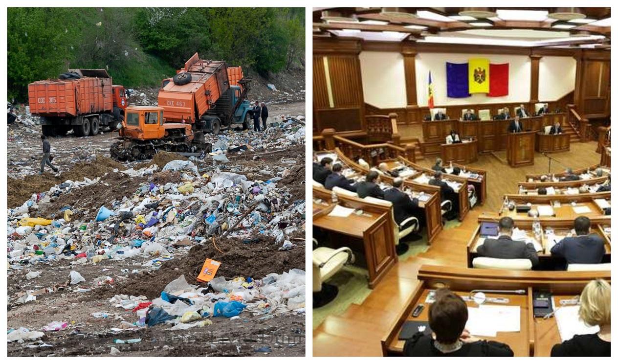 Парламенту предложили провести заседание на мусорной свалке