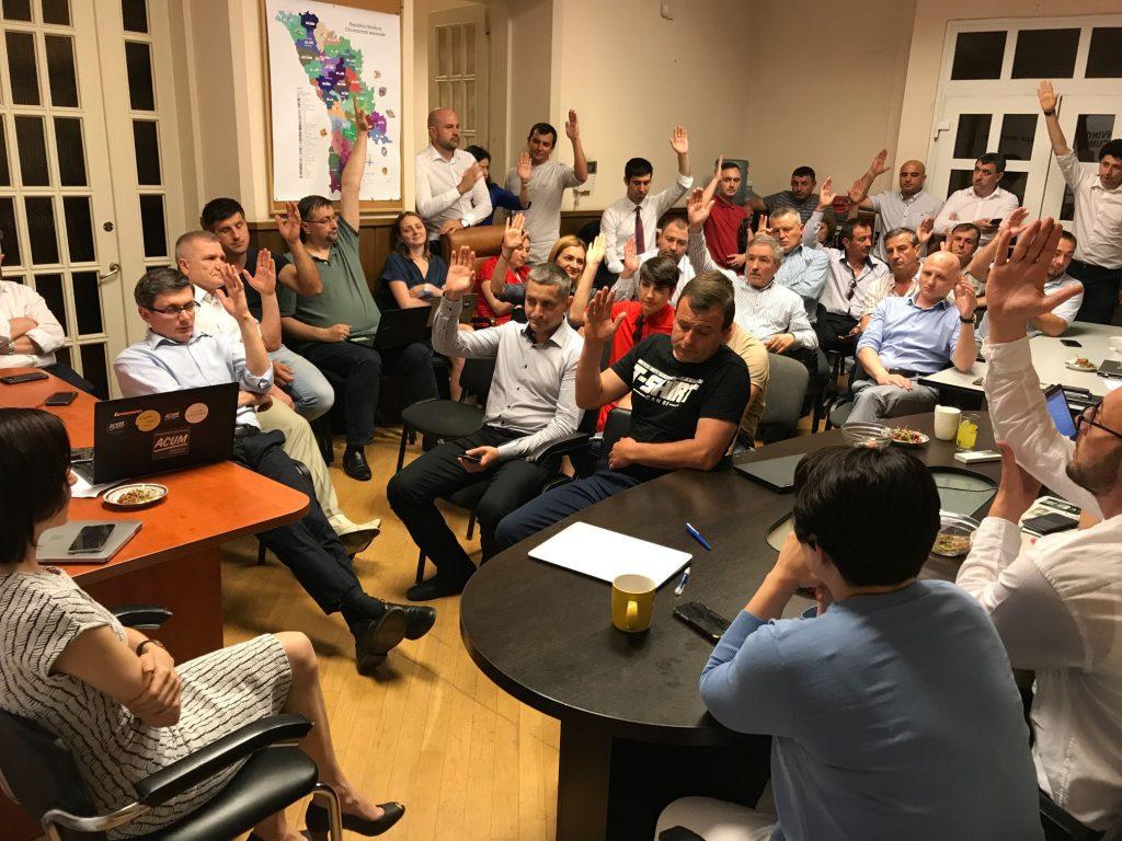 PAS приняла кандидатуру спикера от ПСРМ
