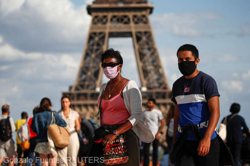 /DOC/Coronavirus: Masca, obligatorie la Paris începând de ...  |Masca Obligatorie