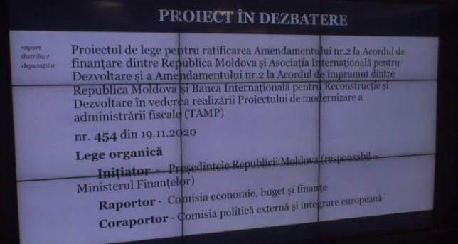 A doua transa de împrumut pentru rep moldova